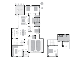 Double Master Bedroom Floor Plans by Ellerston Floorplans Mcdonald Jones Homes