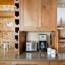 kitchen appliance storage cabinet 66 creative appliances storage ideas for small kitchens