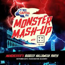 monster mash halloween party buy capital u0027s monster mash up with voxi tickets capital u0027s monster