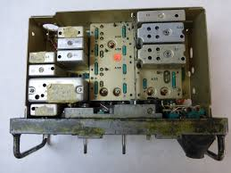 an prc 77 military radio set chassis for parts or rebuilding viet