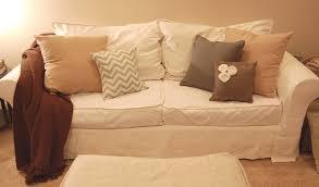 Pillow Arm Sofa Slipcover by On The V Side Slipcovers The Frankenstein Files