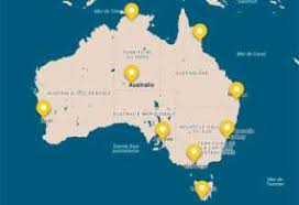 carte de sejour mariage climat en australie saison et météo pour visiter l australie