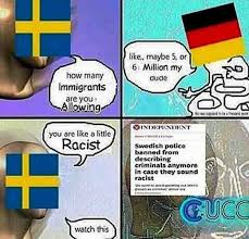 Sweden Meme - sweden to possibly be a third world country by 2030 meme by
