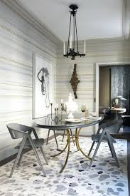 stupendous modern european dining room with bubble chandelier via