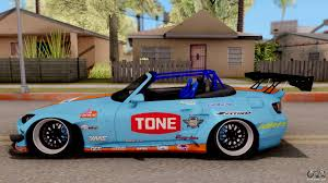 gulf racing truck honda s2000 pandem gulf racing for gta san andreas