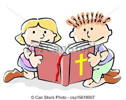 child sitting clipart bible kids children sitting reading the bible conceptual