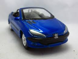 buy new peugeot 206 1 64 diecast fun