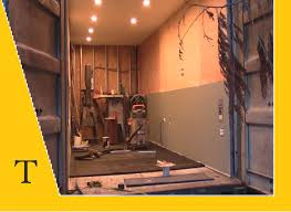 shipping container conversion series video 17 insulation paint