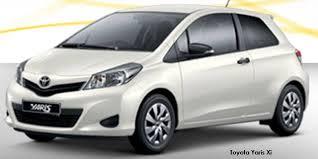 width of toyota yaris toyota yaris 3 door 1 3 xi specs in south africa cars co za