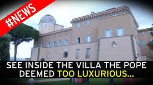 see inside the pope u0027s stunning papal residence at castel gandolfo