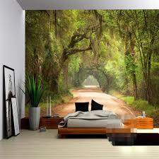 papier peint de bureau beibehang maison décoration photo fond salon papier peint route en