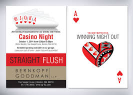 bernkopf goodman casino client appreciation invitation