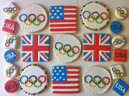 Olympic Games Decorations 162 Best Cut Out Cookies Sports Images On Pinterest Decorated