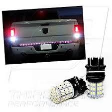 2008 dodge ram tail light bulb size amazon com tgp 3157 white 64 led smd wedge reverse backup light