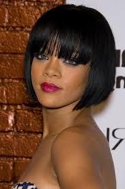photo short layered bob cut hairstyles for black ladies 2016