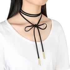 necklace for fibo steel 10 pcs womens black velvet choker necklace