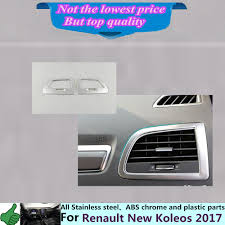 renault koleos 2017 colors for renault koleos 2017 car styling garnish cover detector trim