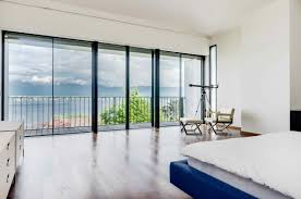 Moderne Villa by Modern Villa With Panoramic View Of The Lake And Geneva For Sale