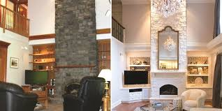 home design before and after living room makeovers interior designers before and after