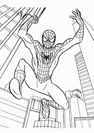 spiderman color sheets coloring pages check