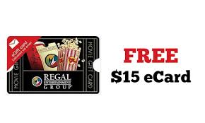 15 gift cards regal cinema get a free 15 gift card southern savers