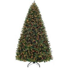 9 ft wesley pine prelit tree with clear lights