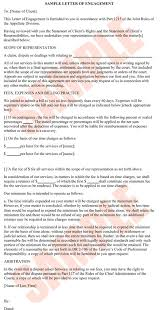 10 best images of lawyer client agreement letter lawyer client