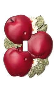 Apple Decorations For The Kitchen For Set 2 Bushel Apples