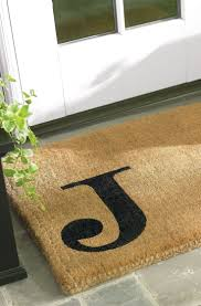 Monogrammed Rugs Outdoor by Best 20 Personalized Door Mats Ideas On Pinterest Diy Door Mats