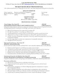 entry level hr resume samples sample entry level hr assistant