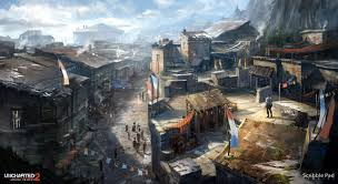 uncharted 2 village concept design scribble pad studios on