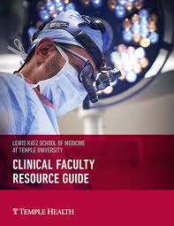 clinical faculty resource guide lewis katz of medicine at