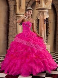 quinceanera dresses coral coral gown sweetheart floor length organza ruffles