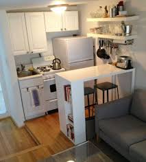 creative minimalist kitchen design for apartments dining room