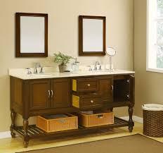 Mission Style Bath Vanity 70