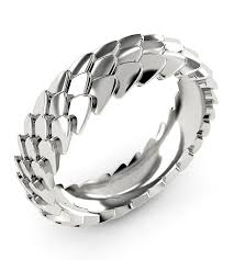 mens wedding rings nz dragonscale ring