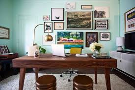 retro home 16 spectacular mid century modern home office designs for a retro feel