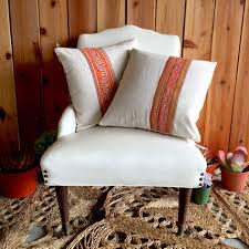 Hippie Home Decor Hippie Home Decor With White Chair And Pillow Also The Carpet Of