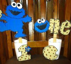 cookie monster party in the corner birthday parties