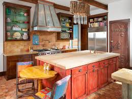 kitchen charming open kitchen design with red cherry wooden