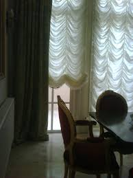 beautiful festoon curtains with trims by decorate my room