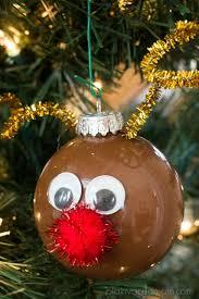 diy reindeer ornament plain vanilla