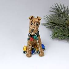 cockapoo ornament figurine lights by themagicsleigh