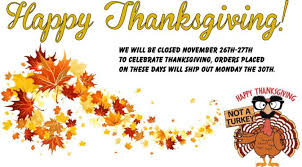 western equipment sales closing for thanksgiving day and black