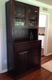 china cabinet small china cabinet with hutch mission style and