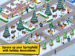 the simpsons tapped out shows some festive cheer in