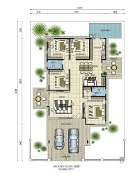 single storey bungalow floor plan pin by hyired on safira impian villa kluang pinterest bungalow