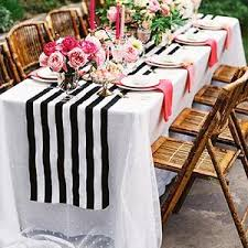 black and white table runners cheap table runners affordable linen efavormart