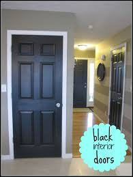 Interior Doors For Home by Home Happy Home Black Painted Interior Doors Minimalist Interior