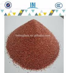 decorative multi size brick red quartz sand buy red quartz sand